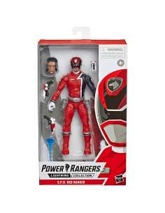 Figura Red Ranger Power Rangers 15cm