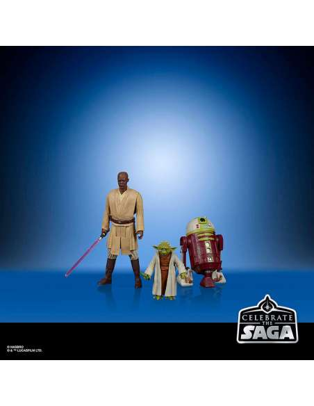 Set 5 figuras Jedi Order Star Wars Celebrate the Saga