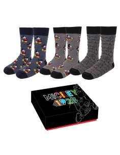 Set 3 calcetines Mickey Disney mujer