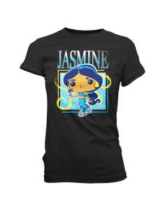Camiseta Jasmine Band Tee Princess Disney