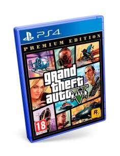 GTA 5 PS4 PREMIUM EDITION PS4