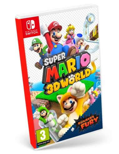 Super Mario 3D World + Bowsers Fury...