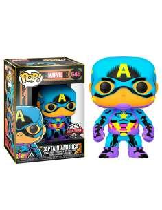 Figura POP Marvel Black Light Captain America