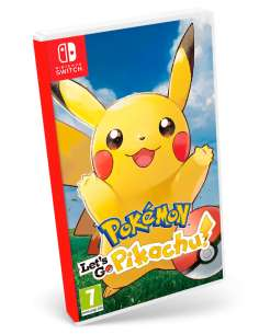 Pokemon Let's Go Pikachu!...