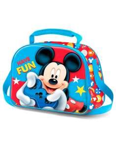 Bolsa portameriendas 3D Mickey Disney