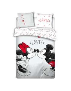 Funda nordica Love Mickey and Minnie Disney cama 135cm