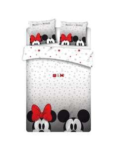 Funda nordica Mickey and Minnie Disney cama 135cm