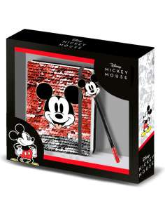 Set diario boligrafo Donut Mickey Disney