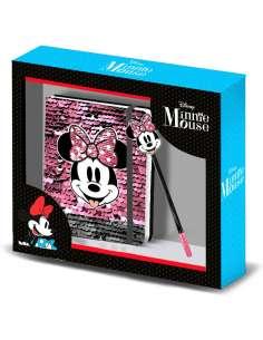 Set diario boligrafo Lollipop Minnie Disney