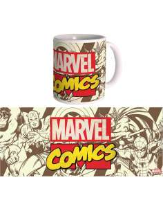 Taza Retro Marvel Comics