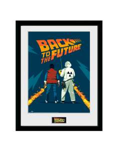 Foto marco Doc and Marty Regreso al Futuro