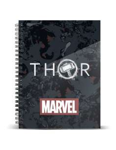 Cuaderno A5 Thor Tempest Marvel