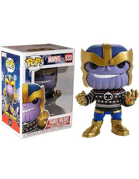 Figura POP Marvel Holiday Thanos