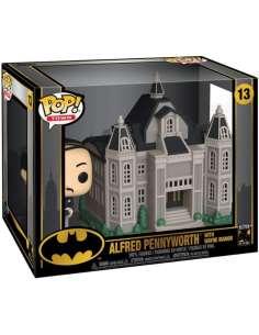 Figura POP DC Comics Batman 80th Wayne Manor with Alfred