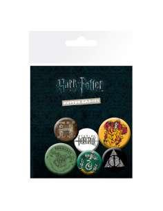 Set chapas Harry Potter