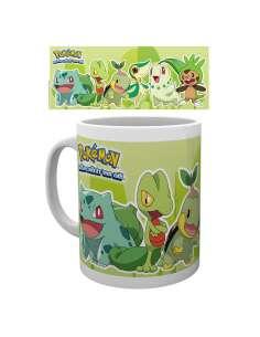 Taza Pokemon Grass Partners