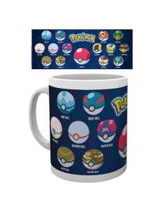 Taza Pokemon Ball Varieties