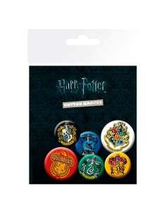 Set chapas Crests Harry Potter
