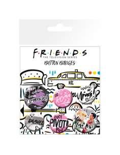Set chapas Doodle Friends