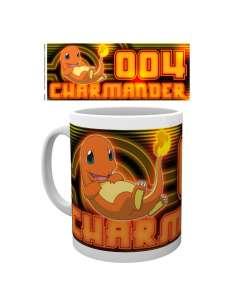Taza Charmander Neon Pokemon
