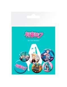 Set chapas Hatsune Miku