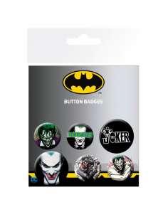 Set chapas Joker DC Comics