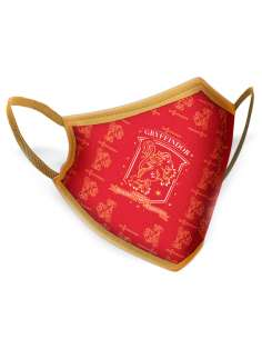 Mascarilla reutilizable Gryffindor Harry Potter adulto
