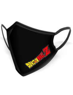 Mascarilla reutilizable Logo Dragon Ball Z adulto