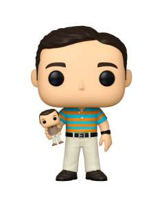Figura POP 40 YO Virgin Andy holding Oscar