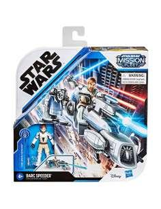 Set figura Obi Wan Kenobi Barc Speeder Star Wars Mission Fleet
