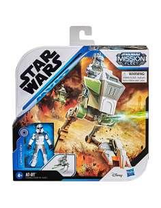 Set figura Captain Rex AT RT Star Wars Mission Fleet
