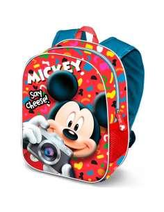 Mochila 3D Say Cheese Mickey Disney 31cm