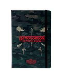 Diario Demogorgon Stranger Things