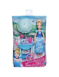 Muneca Cenicienta Carrito de Te Cenicienta Princesas Disney 28cm