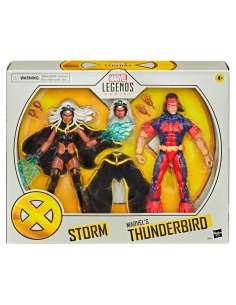 Set figuras Storm and Thunderbird X Men Marvel 15cm