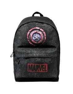 Mochila Capitan America Marvel adaptable 43cm