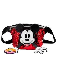 Rinonera Donut Mickey Disney lentejuelas