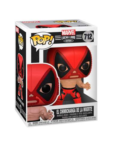 Figura POP Marvel Luchadores Deadpool La Chimiganga de la Muerte