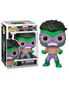 Figura POP Marvel Luchadores Hulk El Furioso
