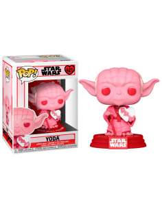 Figura POP Star Wars Valentines Yoda with Heart