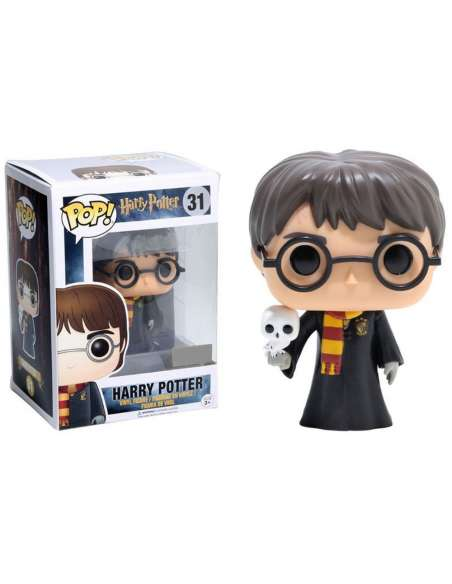 Figura POP Harry Potter Harry with Hedwig