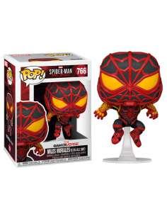 Figura POP Marvel Spiderman Miles Morales STRIKE Suit