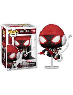 Figura POP Marvel Spiderman Miles Morales Winter Suit