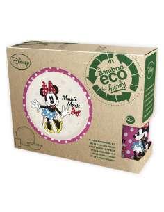Set desayuno Minnie Disney bambu