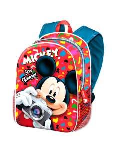 Mochila Mickey Disney Say Cheese 40cm