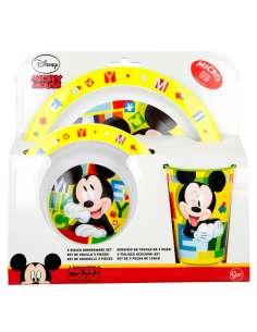 Set desayuno Mickey Disney microondas