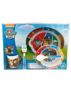 Set desayuno Patrulla Canina Paw Patrol microondas