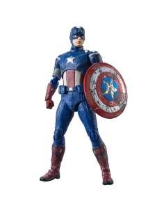 Figura Capitan America Vengadores Avengers Marvel 15cm