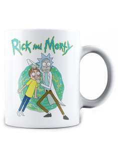 Taza Open Your Eyes Rick and Morty