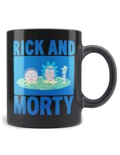 Taza Heads Portal Rick and Morty